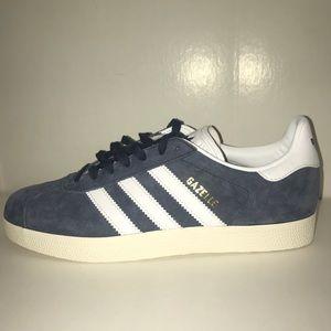 Adidas Gazelles - Blue-grey
